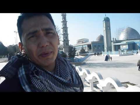 Hazrat Ali Shrine And Blue Mosque Part 1 In Masar E Sharif   Afghanistan   Feb 2016