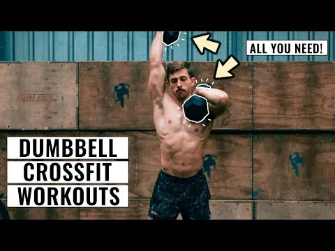 10 CrossFit® Benchmark Workouts Only Using a Dumbbell (Home Workouts)