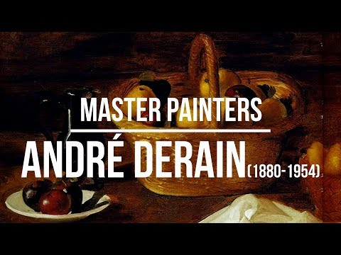 André Derain (1880-1954) A collection of paintings 2K Ultra HD Silent Slideshow