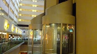 The AMAZING FAST Schindler Miconic 10 Elevators @ Marriott Marquis, NYC