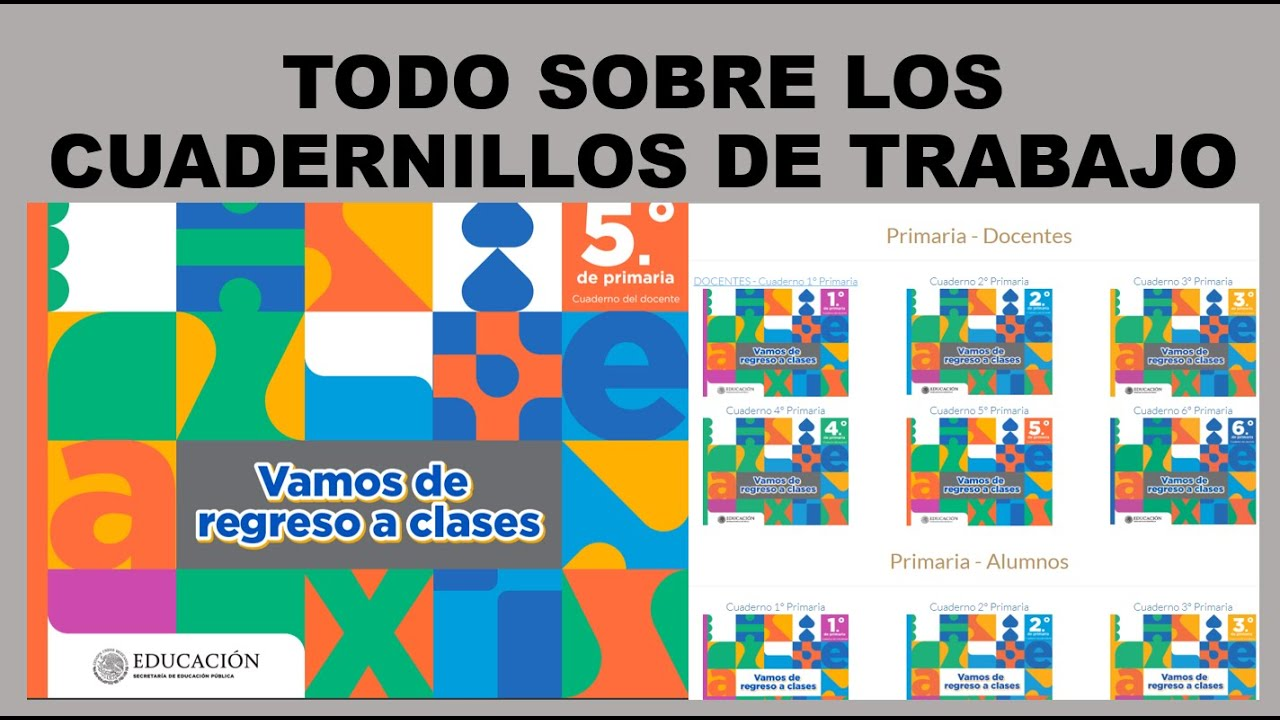 Soy Docente: TODO SOBRE LOS CUADERNILLOS DE TRABAJO / WEBINAR: CERRANDO FUERTE