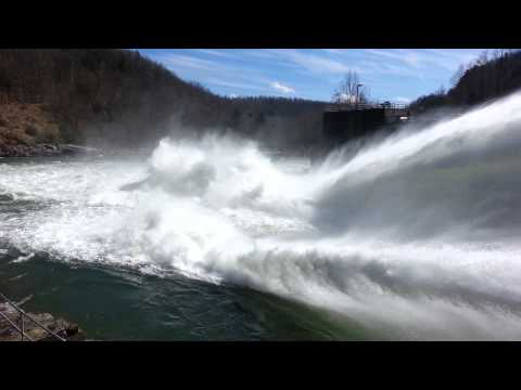Summersville dam WV.. Second largest earth dam.