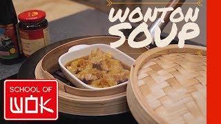 Wonton Soup | Oriental Culinary Institute