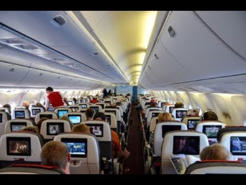 Austrian Airlines: B767 Flight, Vienna Austria to Washington D.C.