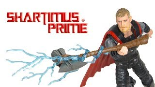 Marvel Legends Thor Avengers Infinity War Wave 2 Cull Obsidian Hasbro Movie Action Figure Toy Review