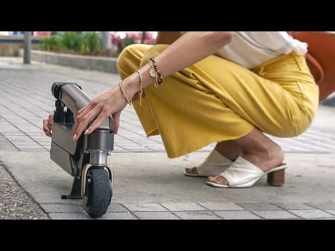 Hyundai Makes Micro-Mobility Easier With Folding Electric Scooter