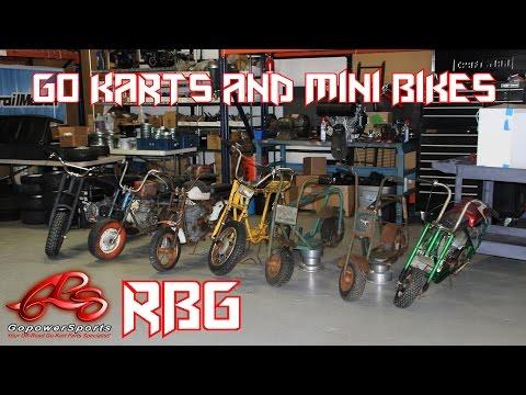 Go Karts & Mini Bike Shenanigans at Go Power Sports