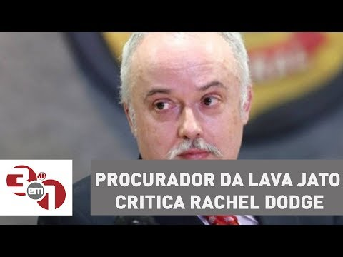 Procurador Da Lava Jato Critica Rachel Dodge E Relata Convite Para Reunião No Palácio Do Jaburu
