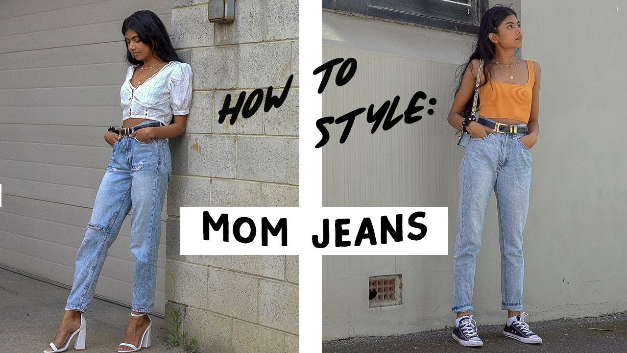 How to Style | Mom Jeans - YouTube