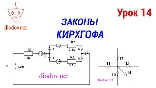 Урок 14. Законы Кирхгофа простыми словами с примерами