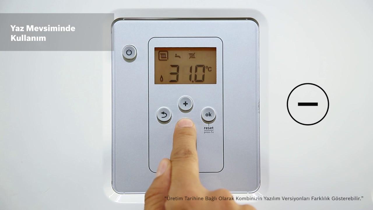 Bosch Condens 2200i W Yoğuşmalı Kombi