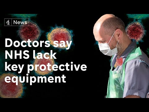 UK Doctors Fighting Coronavirus Still Say They Don't Have Protective Equipment