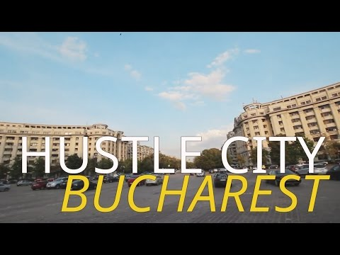 Hustle City Bucharest, and Meeting Brad