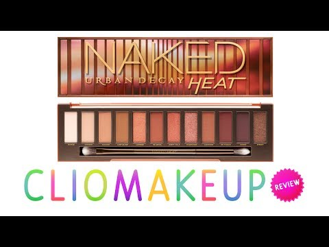 Recensione NAKED HEAT Palette Urban Decay Review