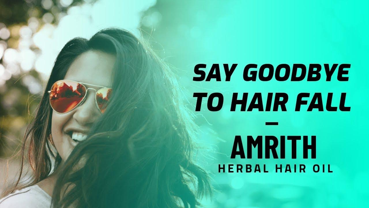 Amrith Herbal Hair Oil – Herbal Remedy for Hair Fall & Hair Loss #Herbalmedicine