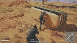 PUBG || How to Flip A Vehicle