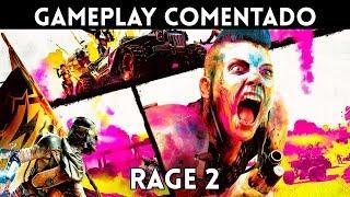 GAMEPLAY EXCLUSIVO español RAGE 2 (PC, XBOne, PS4) Un SHOOTER FRENÉTICO y SALVAJE