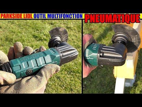 outil multifonction pneumatique parkside lidl pdmfw 15 air multi tool multifunktionswerkzeug. Black Bedroom Furniture Sets. Home Design Ideas