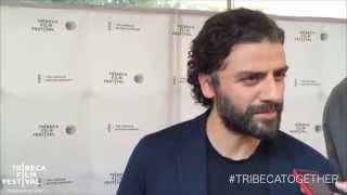 "Tribeca '15: Oscar Isaac at Red Carpet premier of ""Mojave"""