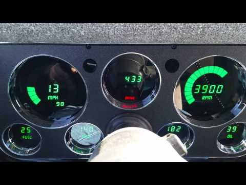 Intellitronix Dash & 4.56 Gears