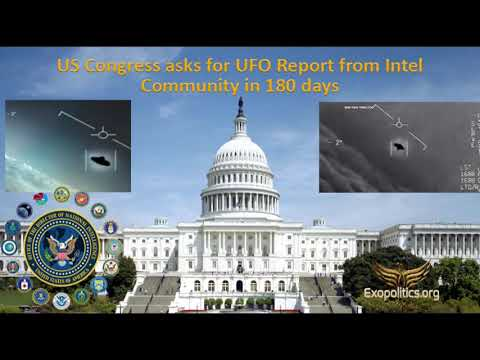 US Congress asks for UFO Report from Intel Community in 180 days