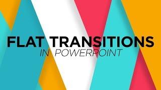 Comment faire de la Télévision les Transitions dans PowerPoint - Motion Graphics Tutoriel