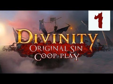 Divinity: Original Sin #1 Начало пути (Прохождение Кооператив на русском языке)
