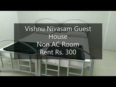 Room Quality At Vishnu Nivasam Guest House I Non AC I Tirupati Trust I Near Tirupati Railway Station