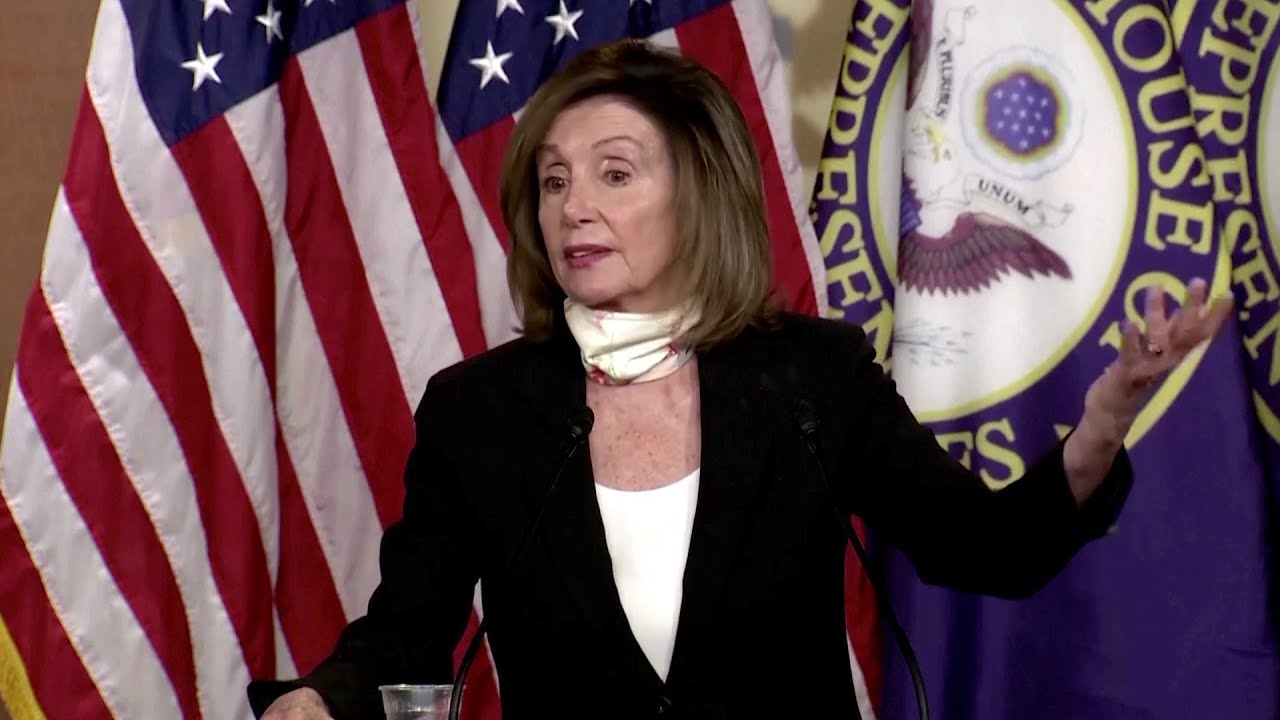 Pelosi slams Twitter and Facebook for 'pandering' to the White House