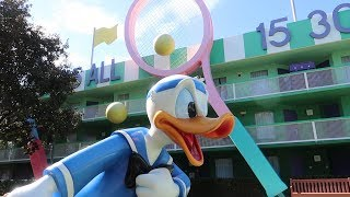 Disney's All Star Sports Resort Tour | Hotel Grounds, Food Locations & More!