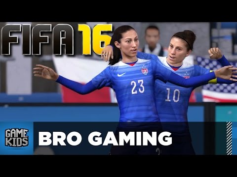 FIFA 16 USA Women Vs Germany - Bro Gaming