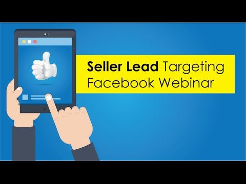 Facebook ads for real estate webinar