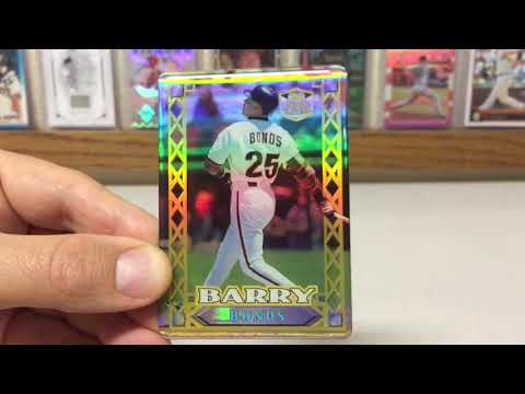 Top Ten 90's Baseball Card Inserts Featuring Barry Bonds
