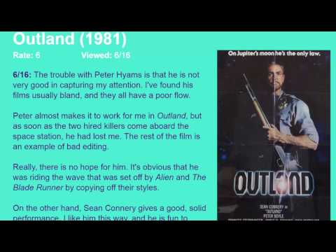 Movie Review: Outland (1981) [HD]