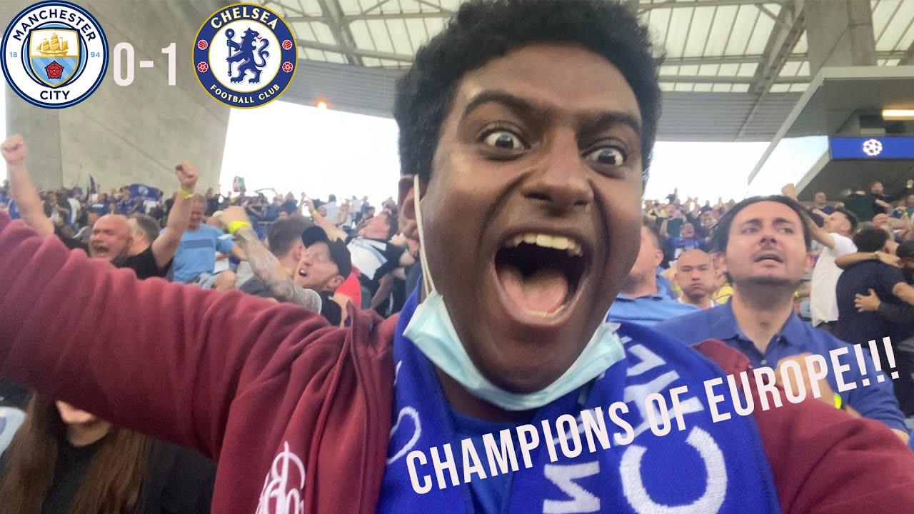 CHAMPIONS LEAGUE FINAL MATCHDAY VLOG!    MAN CITY 0-1 CHELSEA    #CHELSEACHAMPIONS