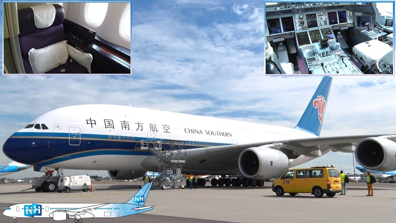 China Southern Airbus A380 Cabin And Aircraft Review