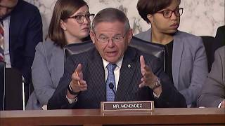 Menendez Questions Fed Chair Powell on the Economy