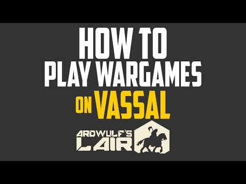 How to Play Wargames on Vassal