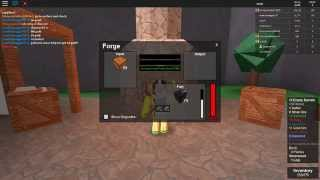 ROBLOX: epic mining 2, with broken forge