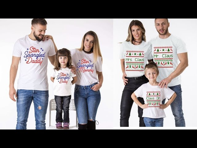 Matching Tees for family || Matching T shirts for family || Kaur Trends