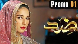 Pakistani Drama | Zid - Promo 1 | Express TV Dramas