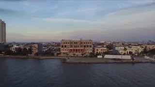 A flight around Pantai Mutiara in Pluit with a Phantom 3 Quadcopter at sunset