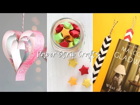 Craft ideas using Strip of Paper!