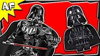 Lego Star Wars Darth Vader Battle Figure 75111 Stop Motion Build Review