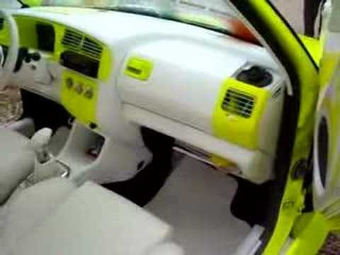 Interieur cuir golf 3 meeting tuning youtube for Interieur tuning auto