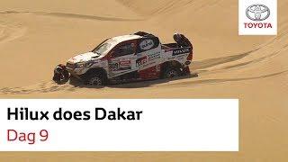 Hilux does Dakar 2019 | Bernhard ten Brinke | Dag 9