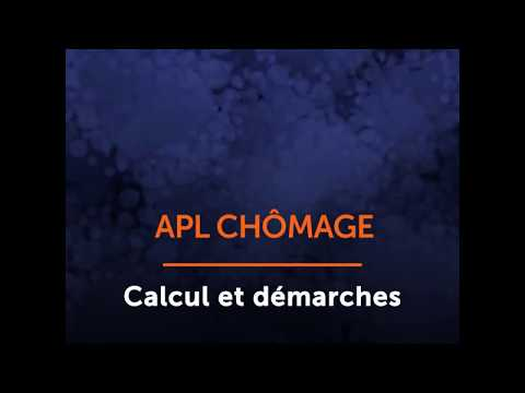Calcul Et Démarches Pour L'APL Chômage - Ooreka.fr