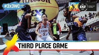 France v China   Women's Full Game   Third Place   FIBA 3x3 World Cup 2018