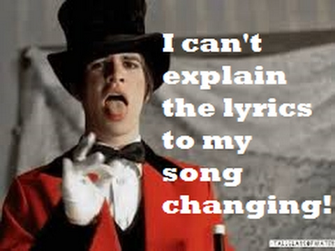 Mandela Effect (Panic At The Disco Lead Singer Can't Explain His Song Changing) Please Vote #99