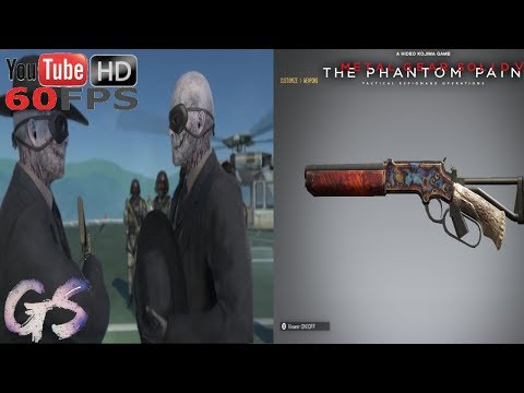 Skull Face W/ His Mare's Leg MOD I Metal Gear Solid V: The Phantom Pain